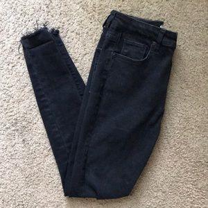 High Rise Black Francesca's Jeans